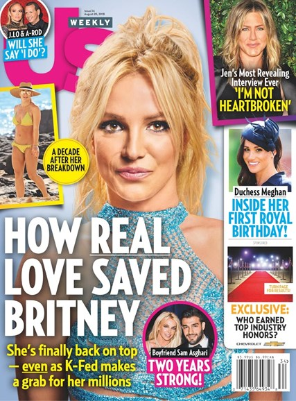 Us Weekly Cover - 8/20/2018