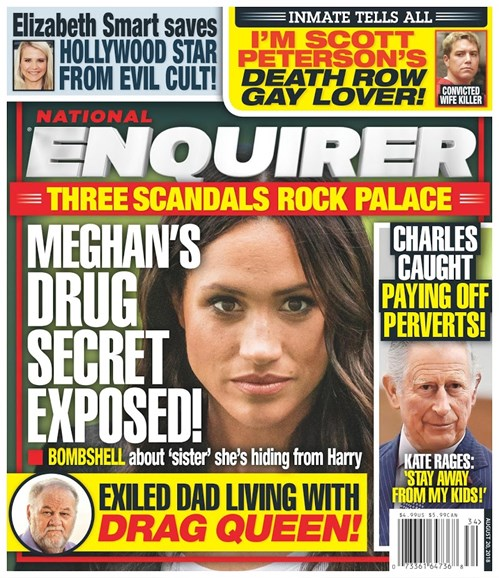 National Enquirer Cover - 8/20/2018