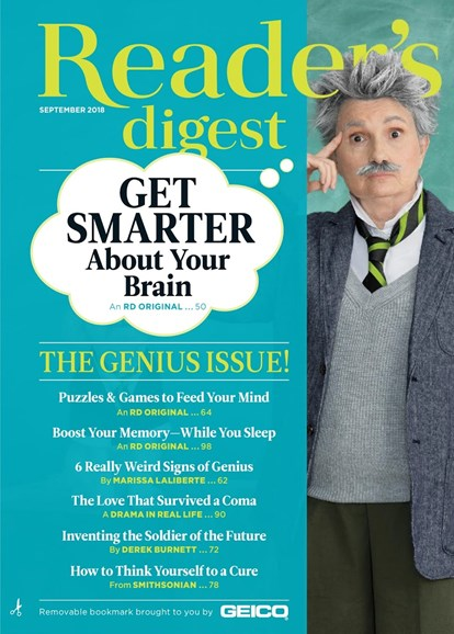 Reader's Digest Cover - 9/1/2018