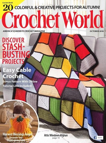 Crochet World Cover - 9/1/2018