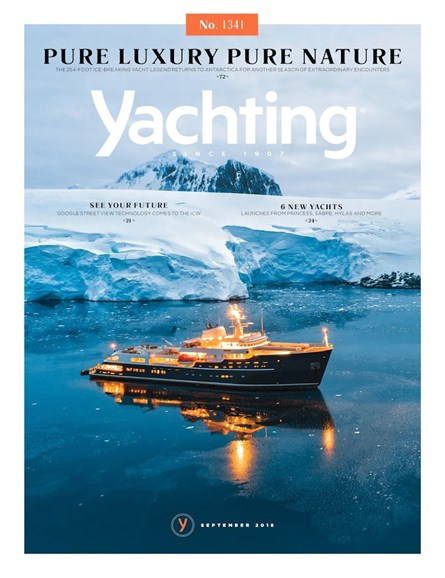 Yachting Cover - 9/1/2018