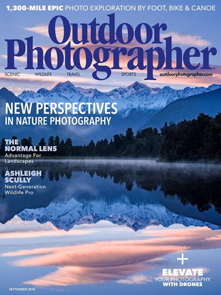 Outdoor Photographer Cover - 9/1/2018