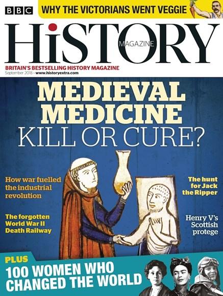 BBC History Cover - 9/1/2018