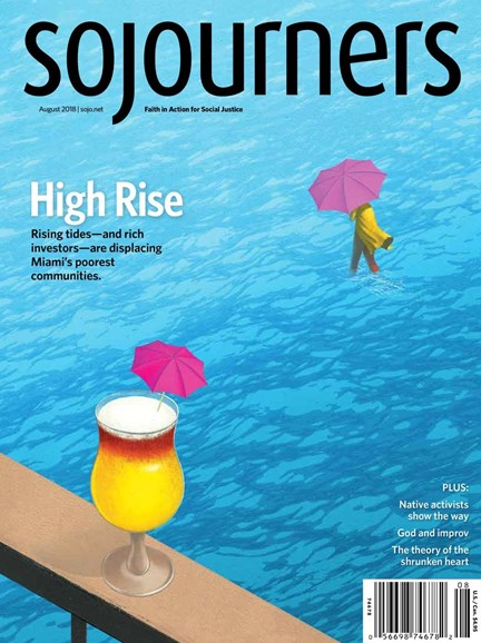 Sojourners Cover - 8/1/2018