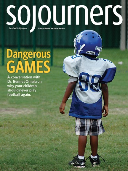 Sojourners Cover - 9/1/2018