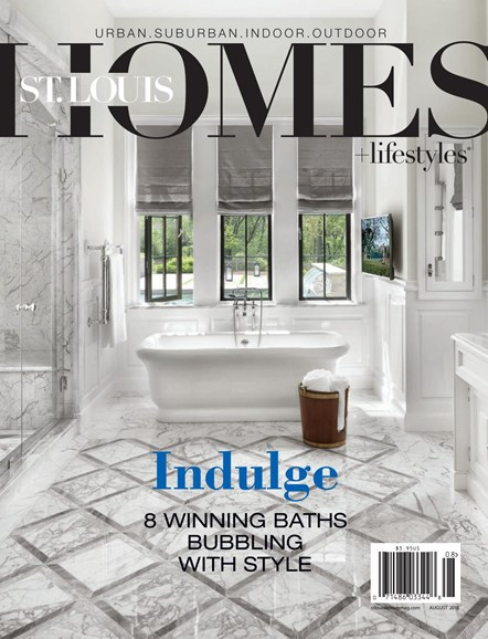St. Louis Homes & Lifestyles Cover - 8/1/2018