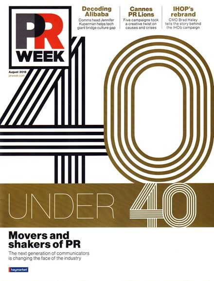 PRWeek Cover - 8/1/2018