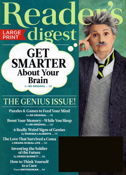Reader's Digest - Large Print Edition Cover - 9/1/2018