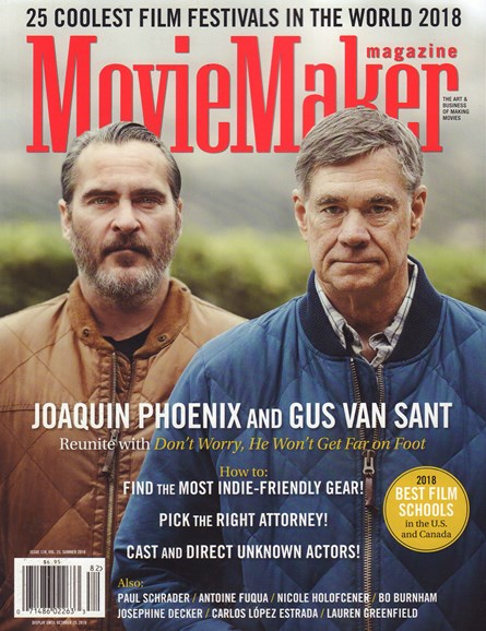 Moviemaker Magazine Cover - 7/1/2018