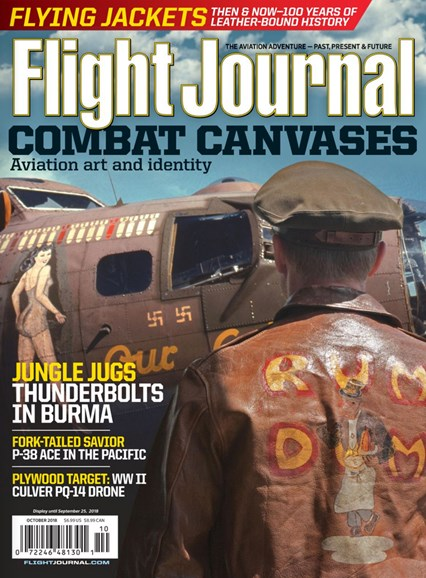 Flight Journal Cover - 10/1/2018
