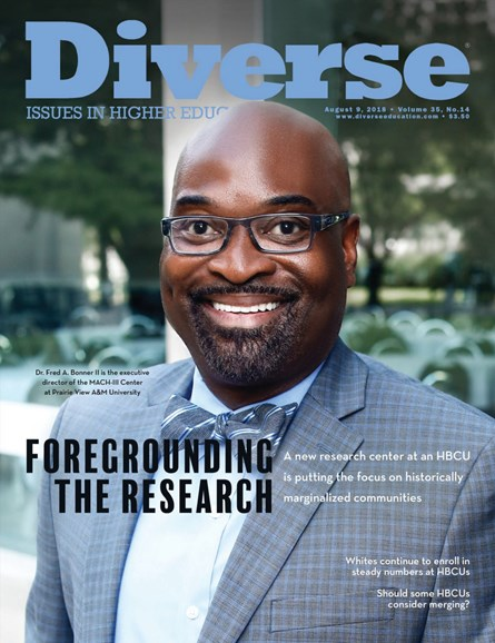 Diverse: Issues In Higher Education Cover - 8/9/2018