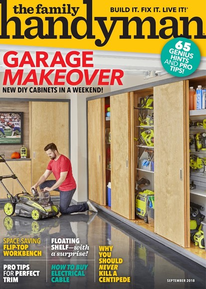 The Family Handyman Cover - 9/1/2018