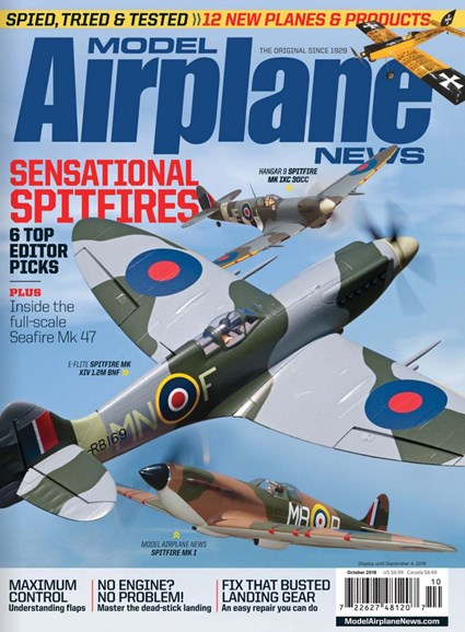 Model Airplane News Cover - 10/1/2018