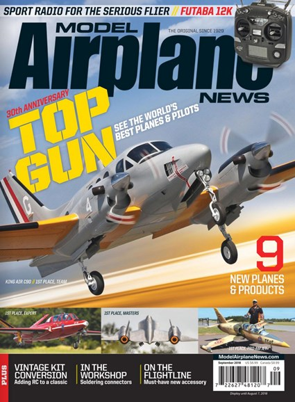Model Airplane News Cover - 9/1/2018