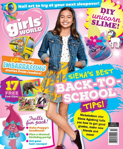 Girls' World Cover - 10/1/2018