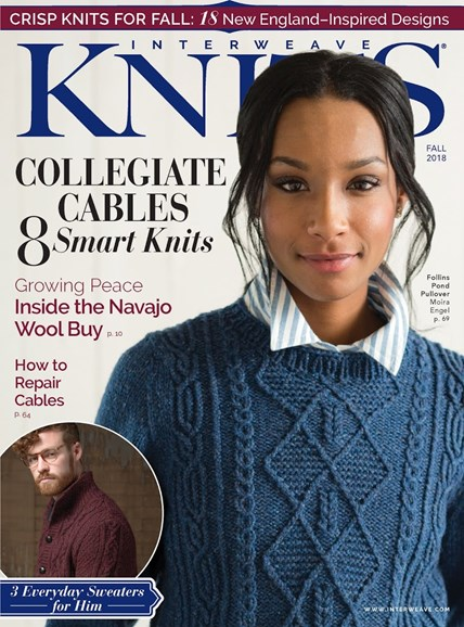 Interweave Knits Cover - 9/1/2018