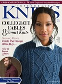Interweave Knits Magazine | 9/2018 Cover