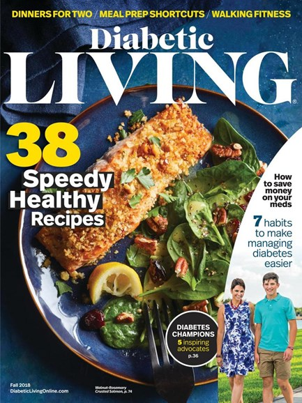Diabetic Living Cover - 9/1/2018