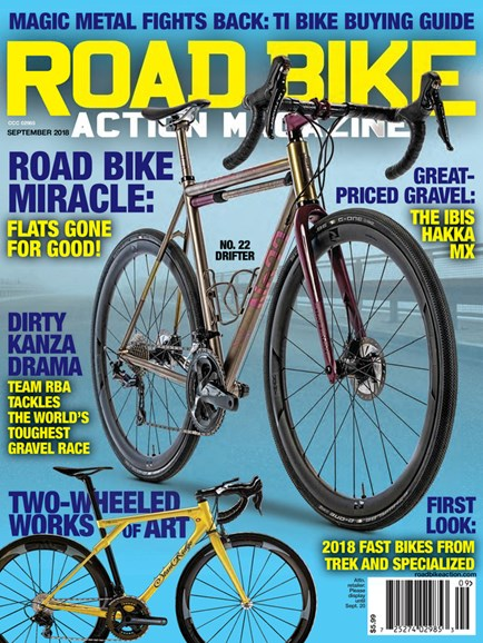 Road Bike Action Cover - 9/1/2018