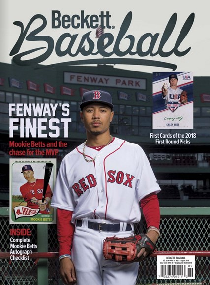 Beckett Baseball Cover - 8/1/2018