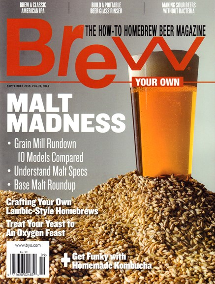 Brew Your Own Cover - 9/1/2018