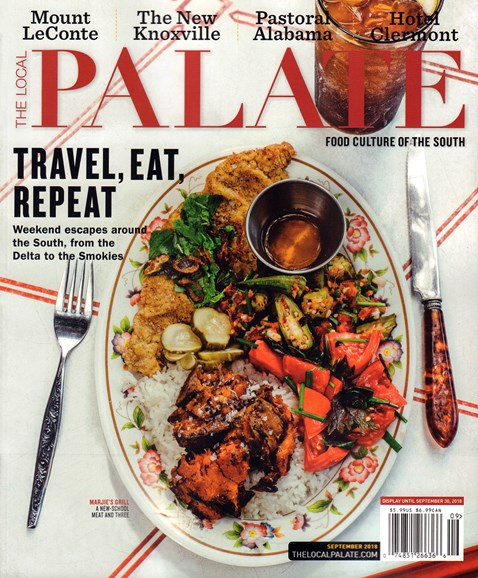 The Local Palate Cover - 9/1/2018