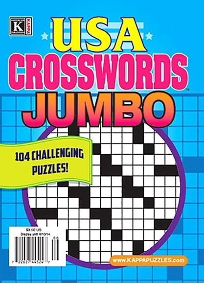 USA Crosswords Jumbo Cover - 9/1/2020