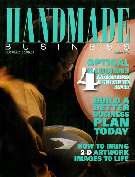 Handmade Business Cover - 10/1/2017