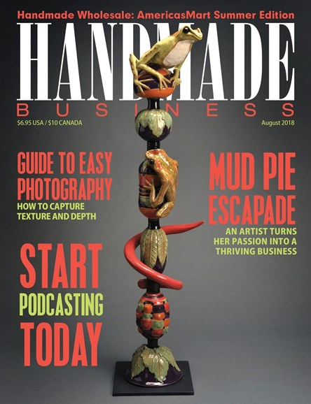 Handmade Business Cover - 8/1/2018