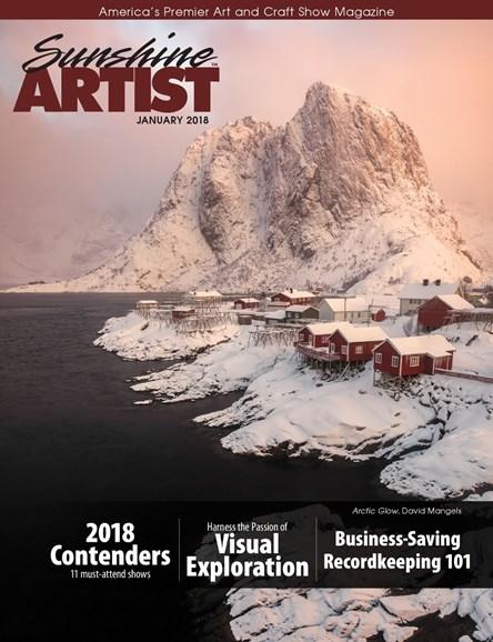 Sunshine Artist Cover - 1/1/2018