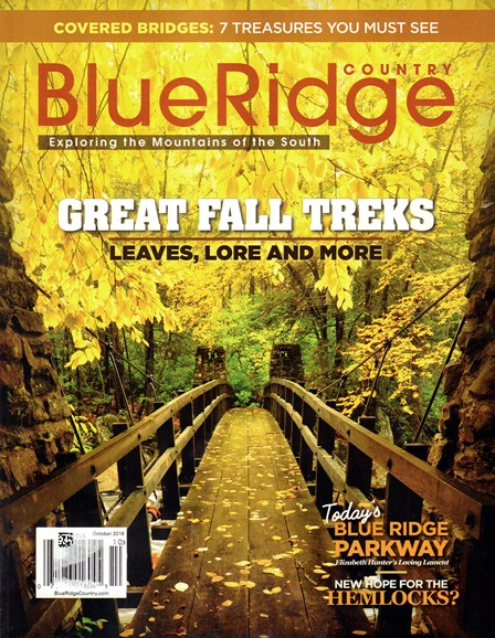 Blue Ridge Country Cover - 10/1/2018