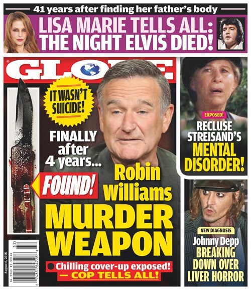 Globe Cover - 8/6/2018