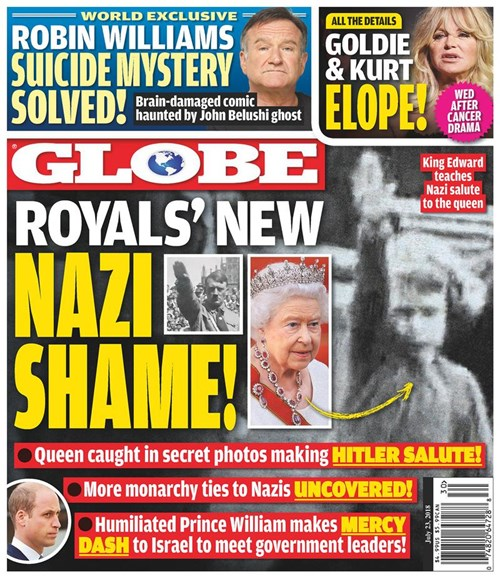 Globe Cover - 7/23/2018