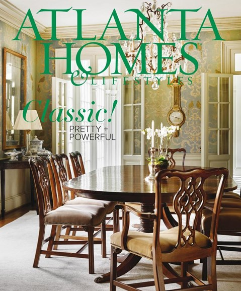 Atlanta Homes & Lifestyles Cover - 6/1/2018