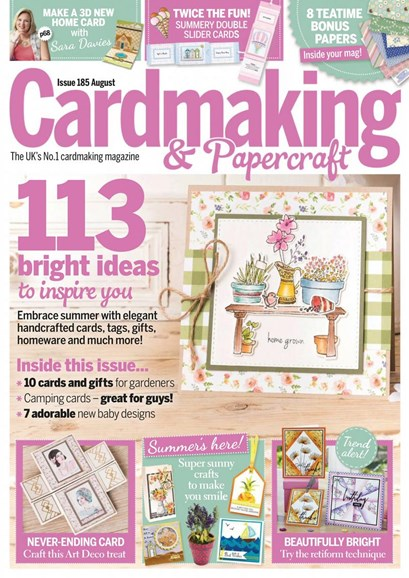 CardMaking & PaperCrafts Cover - 8/1/2018