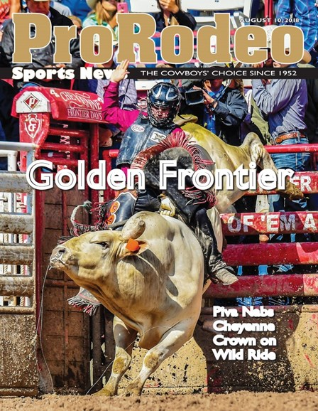 Pro Rodeo Sports News Cover - 8/10/2018