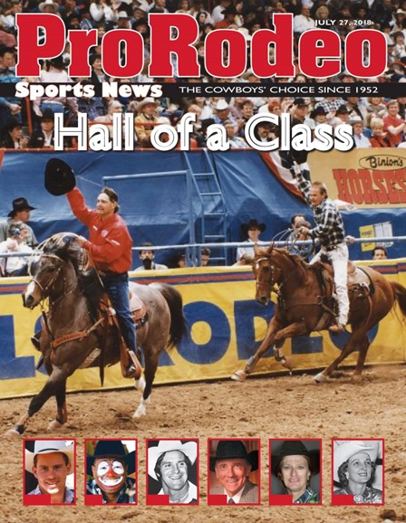 Pro Rodeo Sports News Cover - 7/27/2018