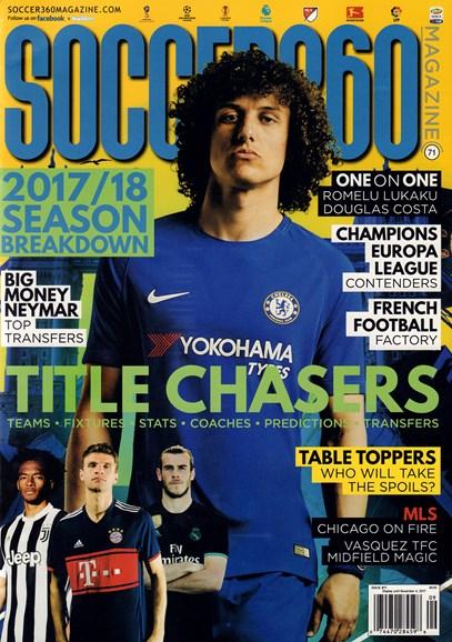 Soccer 360 Cover - 9/1/2017