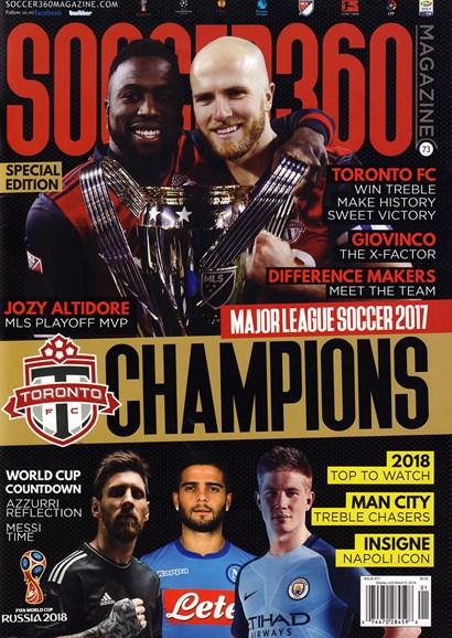 Soccer 360 Cover - 1/1/2018