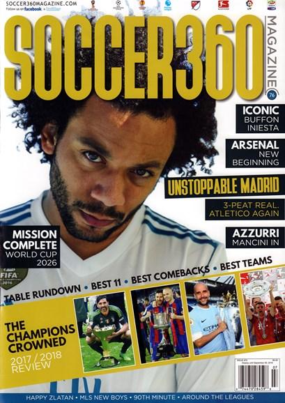 Soccer 360 Cover - 7/1/2018
