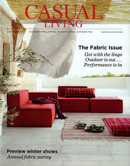 Casual Living Cover - 1/1/2018