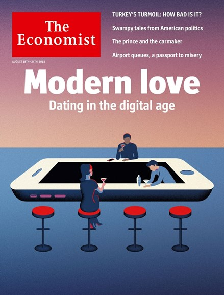 The Economist Cover - 8/18/2018