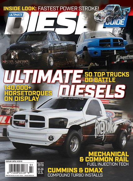 Ultimate Diesel Builder's Guide Cover - 8/1/2018