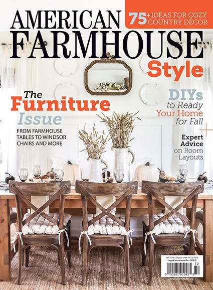 American Farmhouse Style Cover - 9/1/2018