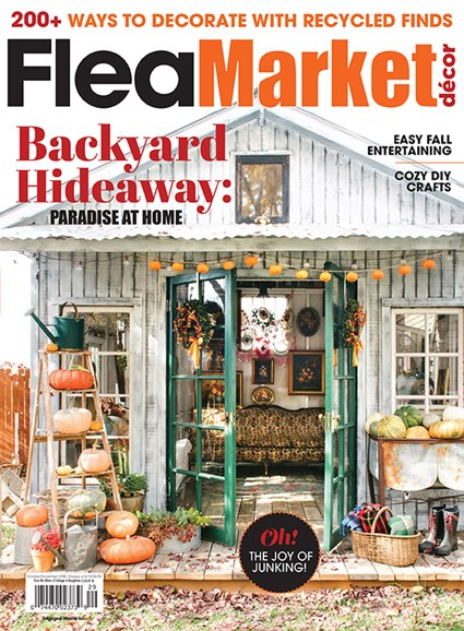 Flea Market Décor Cover - 10/1/2018
