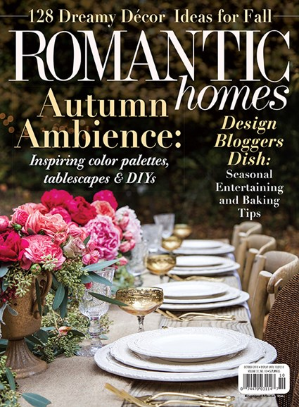 Romantic Homes Cover - 10/1/2018