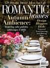 Romantic Homes Magazine | 10/1/2018 Cover