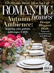 Romantic Homes Magazine | 10/1/2018 Cover