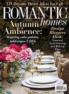 Romantic Homes Magazine 10/1/2018