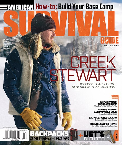 American Survival Guide Cover - 10/1/2018